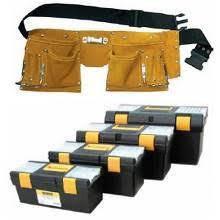 Ящики, органайзеры, сумки, пояса для инструментов