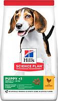 HILL S SCIENCE PLAN Medium Puppy корм для щенков средних пород с курицей (14 кг)