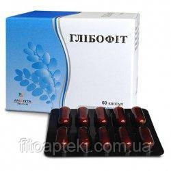 Растительный комплекс для нормализации уровня глюкозы и липидов в крови Глибофит капсулы 6 блистеров по 10 шт