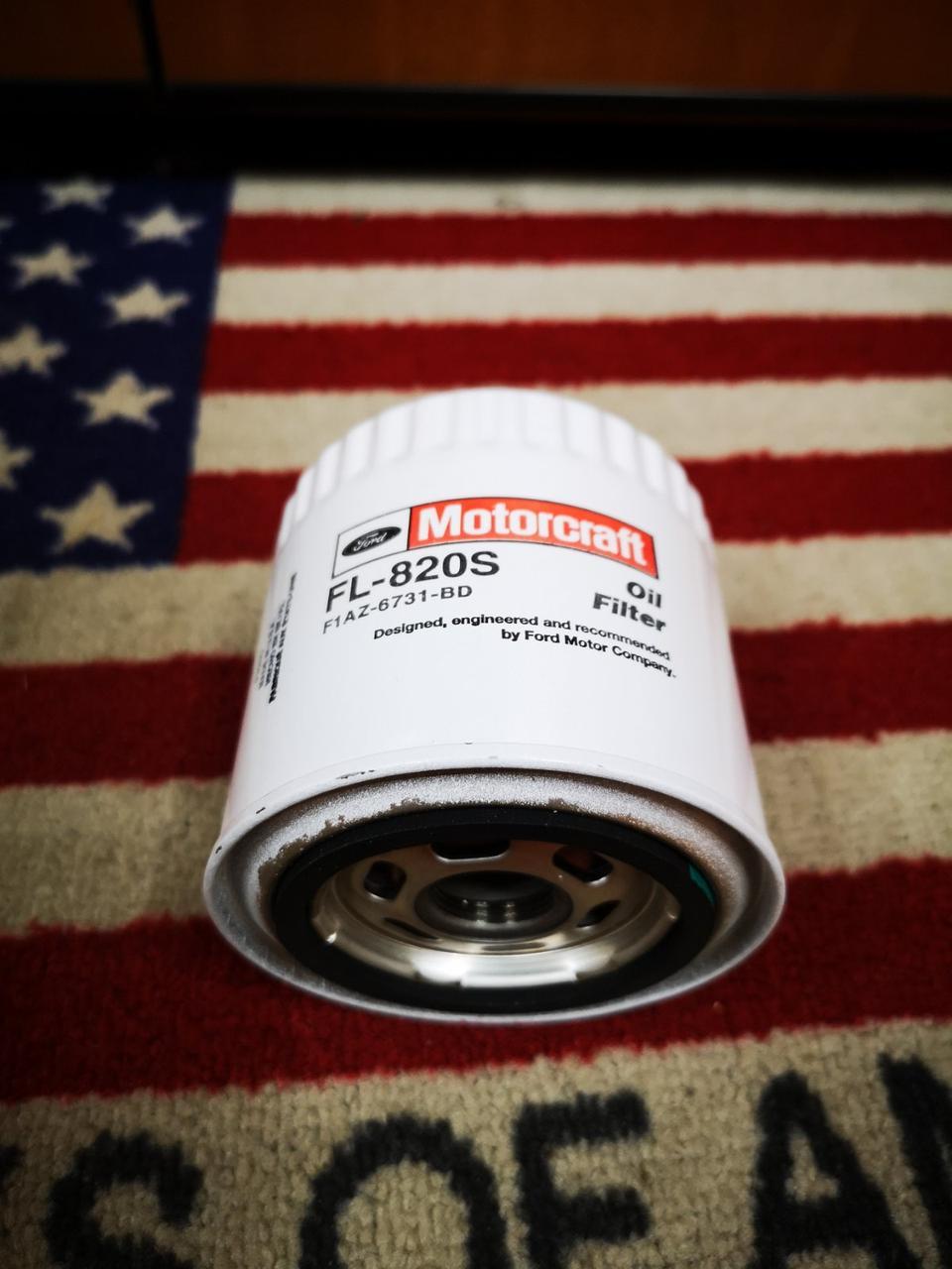 Фильтр масляный (мятый) MOTORCRAFT FL820SM