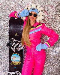 Лыжный женский комбинезон
