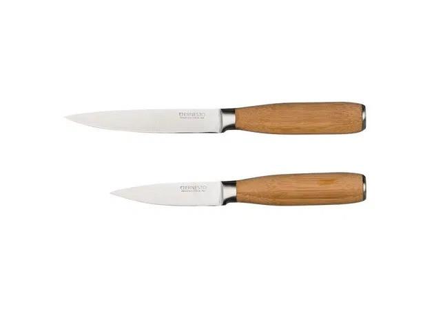 Набор ножей (2 шт.) Ernesto надписи бежевые