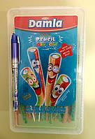 Конфеты мармелад Sour Rainbow Pencil провода в сахаре 150 штук, фото 1