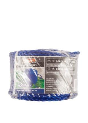 Веревка powerfix синяя 20м, 4мм
