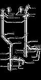 Труба AISI 321 нержавейка D110-400/30см/1мм, фото 2
