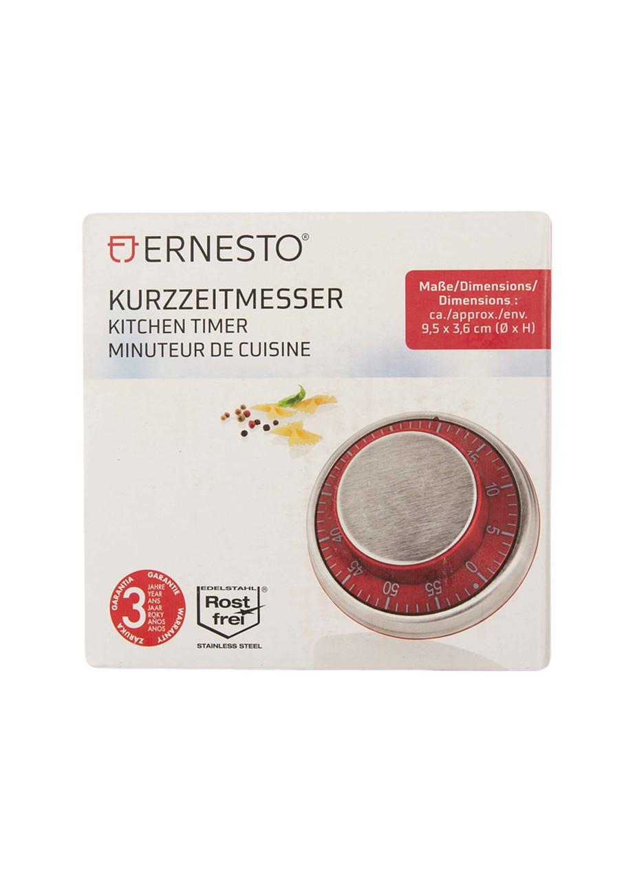 Кухонный таймер с магнитом Ernesto 9,5х3,6см красный