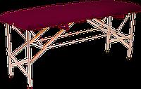 Кушетка косметологическая складная / Складная кушетка эконом. 185х60 см. Эко-кожа Украина, Эконом
