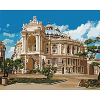 Картина по номерам Музыкальное сердце Одессы 40 х 50 см ТМ Идейка КНО3566