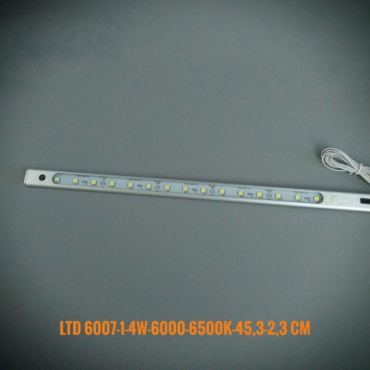 Мебельный встраиваемый светильник LDT-6007-1 W 3,0Wt