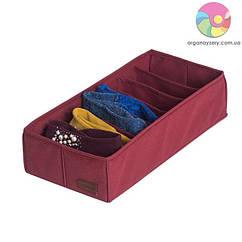 Коробочка для шкарпеток\колгот (бордо)