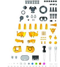 Робот Тобби на радиоуправлении| Интерактивный робот конструктор| Умный робот для детей  на 6 ножках PR4, фото 3