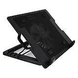 Подставка охлаждающая для ноутбука регулируемая 5 углов  Ergostend A700 Черная, фото 2