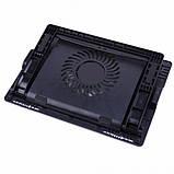 Подставка охлаждающая для ноутбука регулируемая 5 углов  Ergostend A700 Черная, фото 3