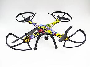 Радиоуправляемый квадрокоптер CD622/623W с WiFi камерой | Летающий дрон PR5