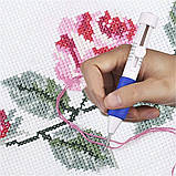 Набор для вышивания DIY 136 предметов для вышивки Нитки инструменты и аксессуары наборы для вышивания крестом, фото 10
