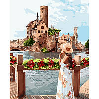 Картина по номерам Живописное место ТМ Идейка 40 х 50 см КНО4697, фото 1