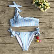 Женский купальник blue-white размер S, фото 3