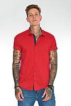 Рубашка Gelix 1226003 красная