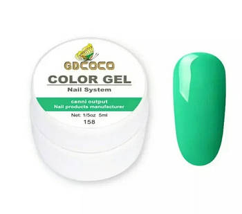 Гель-краска GD COCO №158, 5 мл