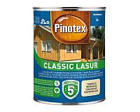 Лазурь-лак антисептический PINOTEX CLASSIC LASUR для древесины матовый 3л