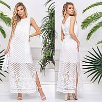 """Літній довге плаття розміри S, M, L, XL, 2XL """"Меліса максі"""", фото 1"""