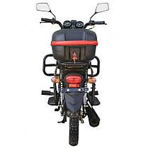 Мотоцикл SPARK SP125C-2CМ, 120 куб.см, двухместный дорожный с Доставкой по Украине, фото 2