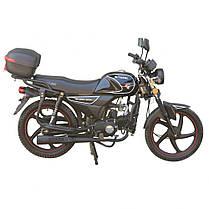 Мотоцикл SPARK SP125C-2CМ, 120 куб.см, двухместный дорожный с Доставкой по Украине, фото 3