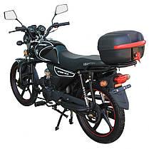 Мотоцикл SPARK SP125C-2СМ, 120 куб. см, двомісний дорожній з Доставкою по Україні, фото 2