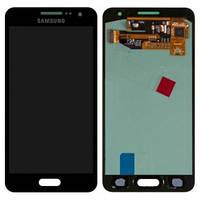 Дисплейный модуль для Samsung A300F Galaxy A3, A300FU, A300H черный (GH97-16747B) Оригинал