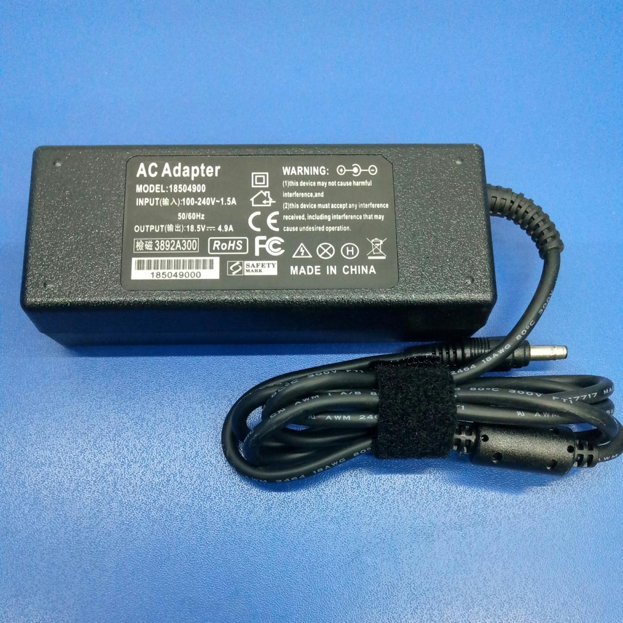 Блок живлення до ноутбука HP 18.5 V 4.9 A 4.75*1.65 Bullet 90W