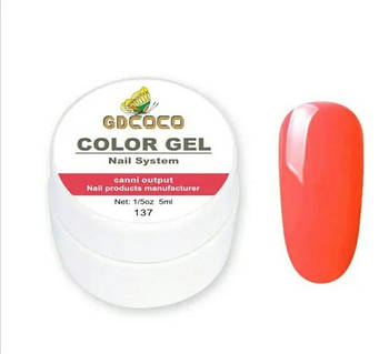 Гель-краска GD COCO №137, 5 мл