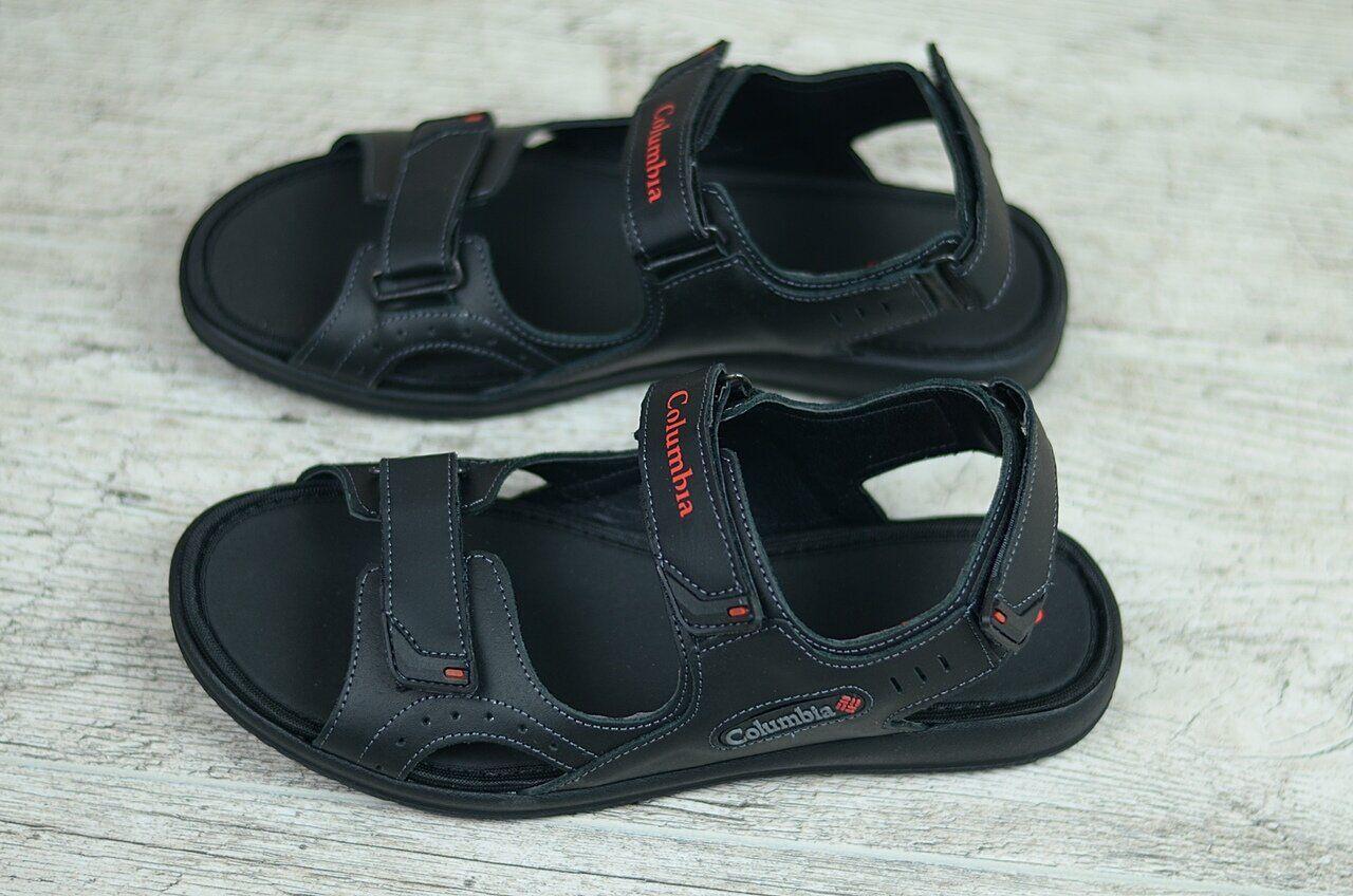 Мужские кожаные сандалии Columbia