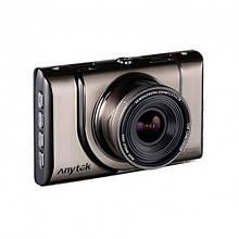 """Відеореєстратор стильний Anytek A100 відео реєстратор металевий для машини+кріплення 3"""" екран"""