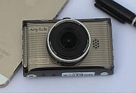 Авторегистратор стильный в машину Anytek X6 металлический видеорегистратор Full HD
