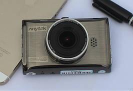 Авторегістратор стильний в машину Anytek X6 металевий відеореєстратор Full HD