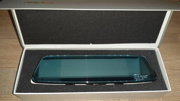 Зеркало-регистратор Anytek T77 1080p видеорегистратор  автомобильный угол обзора 170° + камера заднего вида, фото 2