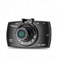 """Автомобильный видеорегистратор экран 3"""" G30 DVR Full HD 1 камера мини авторегистратор датчик движения"""