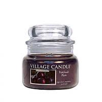 Ароматическая свеча Village Candle Слива и пачули 262 г