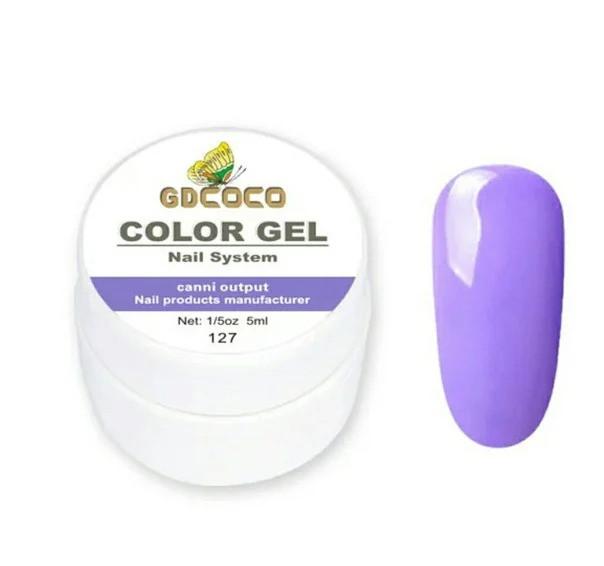 Гель-краска GD COCO №127, 5 мл