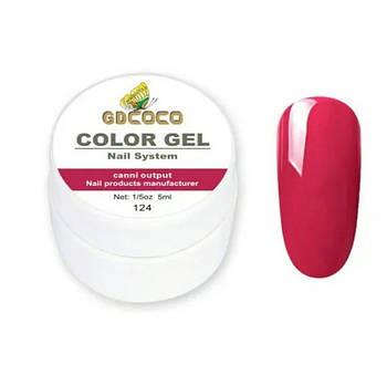 Гель-краска GD COCO №124, 5 мл