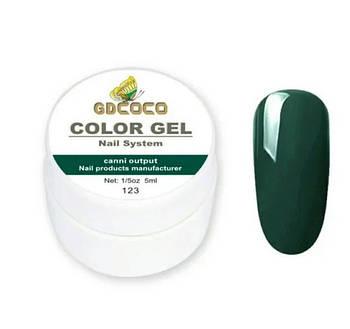 Гель-краска GD COCO №123, 5 мл