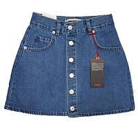 Юбка джинсовая для девочек мини XRAY на пуговицах