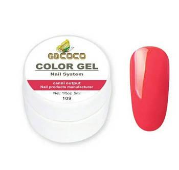 Гель-краска GD COCO №109, 5 мл