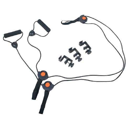 Универсальный тренажер LiveUp Door Gym Black+Orange (LS3214)