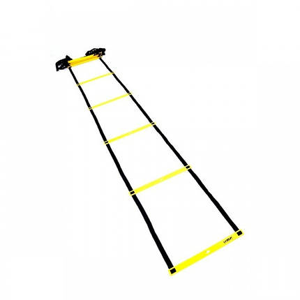Координаційна драбинка LiveUp Agility Ladder 4 м Yellow-Black (LS3671-4), фото 2