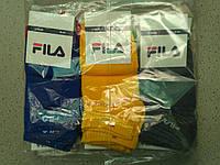 Жіночі бавовняні короткі шкарпетки FILA упаковка 12 пар різні кольори