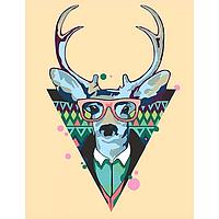 """Картина по номерам, Rosa """"Cool deer"""" 35*45 N0001364"""