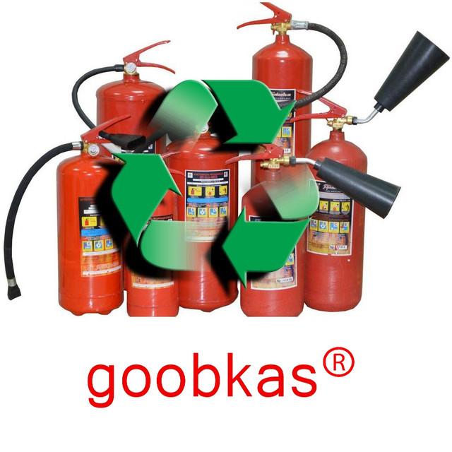 Офіційне утилізація вогнегасників і списання вогнегасників