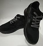 Кроссовки мужские adidas черные, фото 3