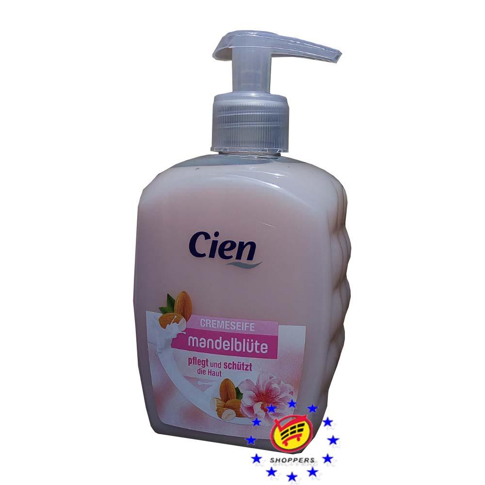 Cien жидкое крем-мыло для рук Миндаль 500 мл